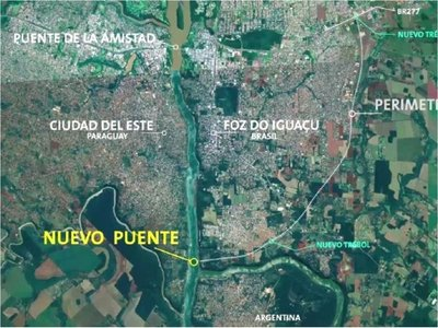 Segundo puente con Brasil ya tiene área liberada para la  obra