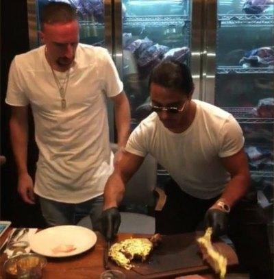 ¡Platal de multa a Ribéry! Insultó y su club le trozó