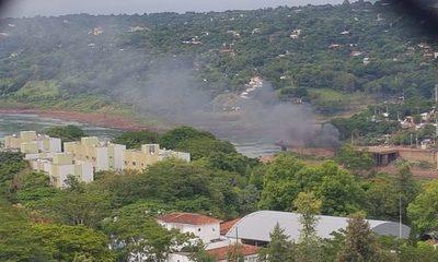 Denuncian quema indiscrimada de cubiertas en Franco
