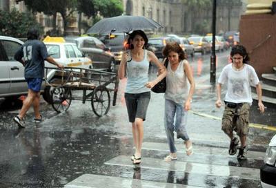 Lluvias, calor y tormentas pronostican para hoy