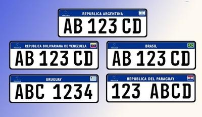 HOY / Nuevas chapas Mercosur, desde abril: todo lo que hay que saber
