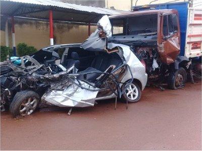 Joven murió tras aparatoso accidente en Caaguazú