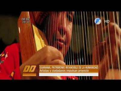 Postularán a la Guarania como patrimonio inmaterial de la humanidad