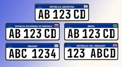 NUEVAS CHAPAS PARA TODO EL MERCOSUR DESDE ABRIL