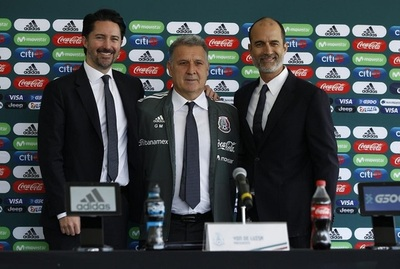 Tata Martino es presentado como nuevo DT de México
