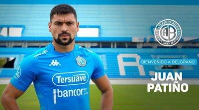 Juan Patiño, nuevo jugador de Belgrano