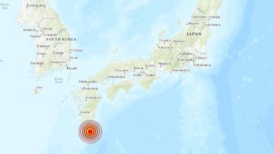 Reportan un sismo de magnitud 6,3 en una isla de Japón