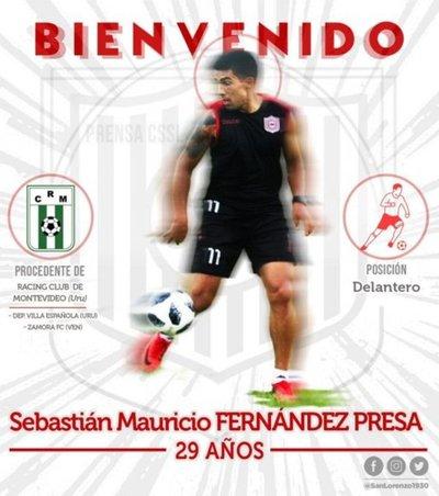 San Lorenzo oficializa llegada de Fernández