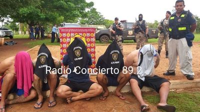 Detienen a cinco presuntos miembros del PCC