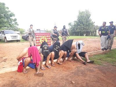 Aprehenden a 5 presuntos soldados del PCC