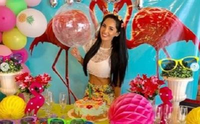 La Fiesta Que La Modelo Andy Duarte Preparó Por Su Cumpleaños