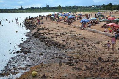 La playa de Hernandarias estará inhabilitada todo enero