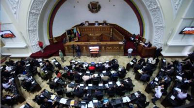 """Parlamento pide apoyo para cesar la """"usurpación"""" de Nicolás Maduro"""