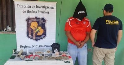 Detienen a una persona e incautan droga en el barrio Ciudad Nueva