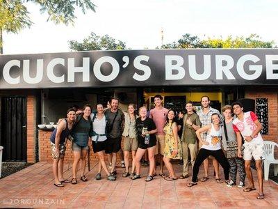 Cucho's burger: el local que llama la atención de todos en Pilar