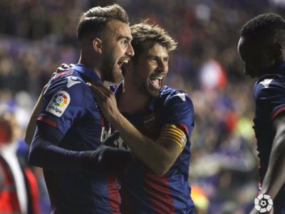 El Barcelona tropezó en su visita al Levante