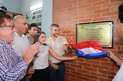 En Itapúa, Presidente reitera compromiso  de fortalecer sistema de salud pública