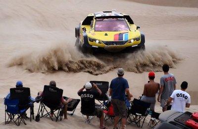 El rally Dakar emprende las etapas más complicadas a su vuelta hacia Lima