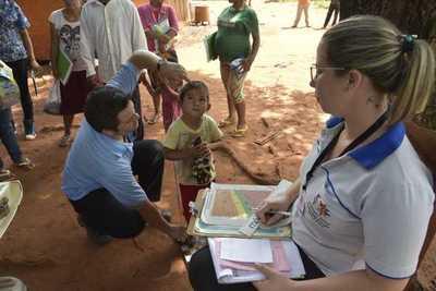 Salud asiste a indígenas de Itakyry