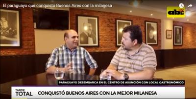 La milanesa más rica de Buenos Aires, en Asunción