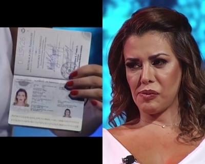 Controversia por pasaporte diplomático de Marly Figueredo