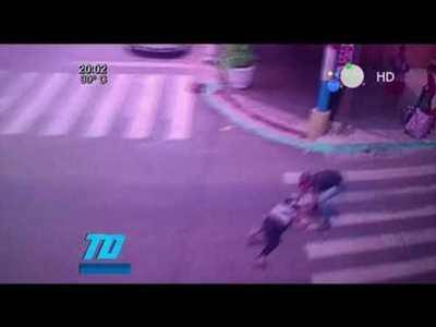 Así asaltaron a una funcionaria de la municipalidad de Caacupé