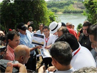 El puente de Carmelo Peralta-Puerto Murtinho harán firmas paraguayas