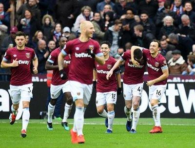 El West Ham vence al Arsenal