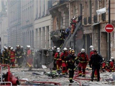 Tres fallecidos en París luego de explosión en una panadería