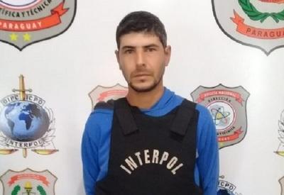 Aprehenden en Asunción a prófugo argentino más buscado por Interpol