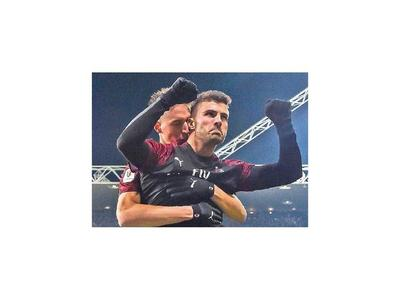 Juventus, Milan y Lazio pasan a cuartos