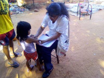 Pobladores de Colonia Maka recibieron atención médica