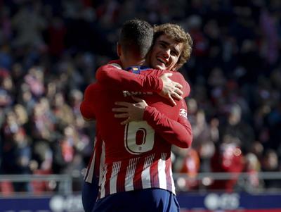 Atlético Madrid gana y termina la primera rueda segundo