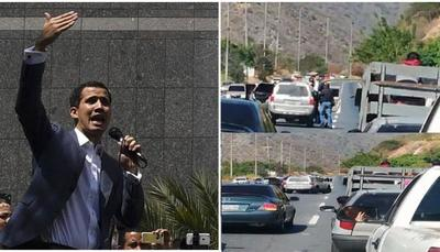 Breve detención de Guaidó expone contradicciones del régimen de Maduro