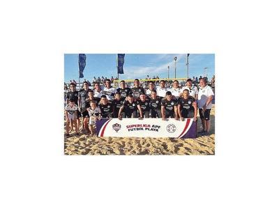 Olimpia, campeón de la 5ª etapa de playa