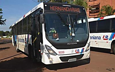 La Santaniana dejó sin transporte a hernandarienses tras un conflicto con intendente