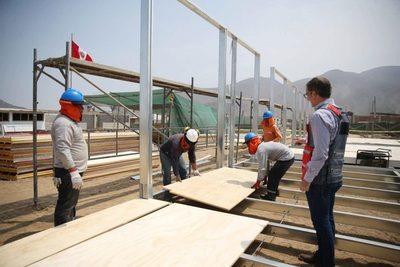 MEC instalará más aulas prefabricadas