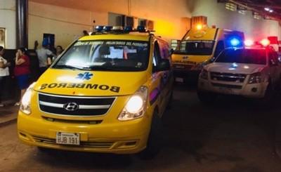 Mujer da a luz en ambulancia de bomberos de Minga