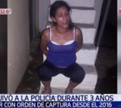 Capturan en Asunción a mujer que era buscada desde hace tres años