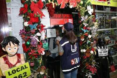 Intervienen comercios en Asunción y Encarnación por no expedir facturas