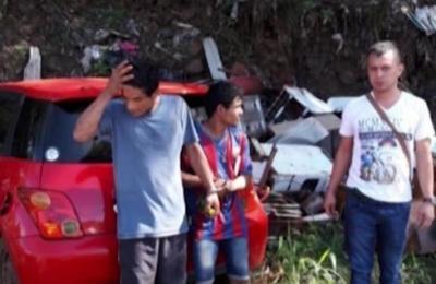 Dos jóvenes hurtaron un vehículo en Ciudad del Este