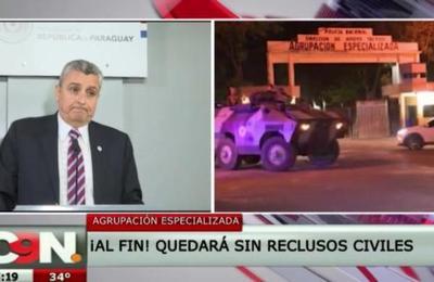 Agrupación Especializada: Presos fueron trasladados a cárceles comunes