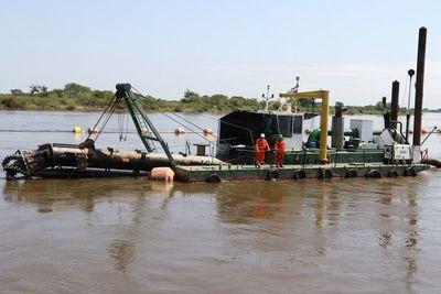 Prevén retomar obras de dragado del río Paraguay