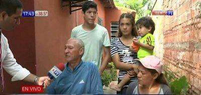 Paraguayo que vivía en Venezuela con su familia regresó huyendo de la crisis