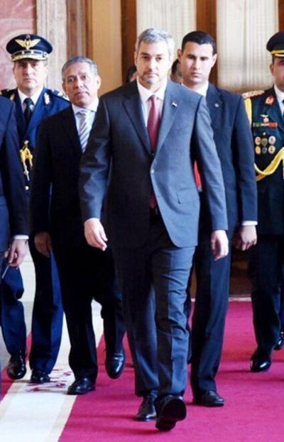 Marito atenderá sus actividades gubernativas en Palacio