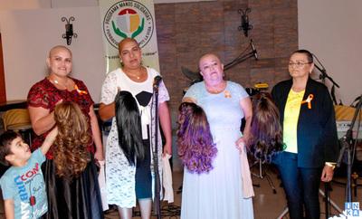 Vuelven a elaborar pelucas para pacientes de Fundación que lucha contra el cáncer