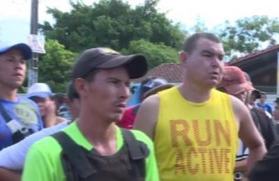 Pobladores de Luque se manifiestan ante inminente desalojo