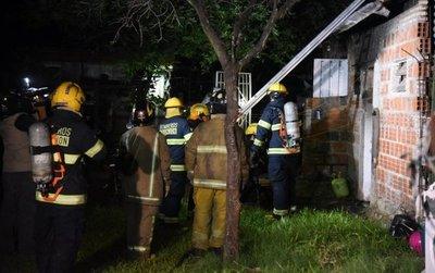 Incendió su casa tras ser denunciado por violencia intrafamiliar
