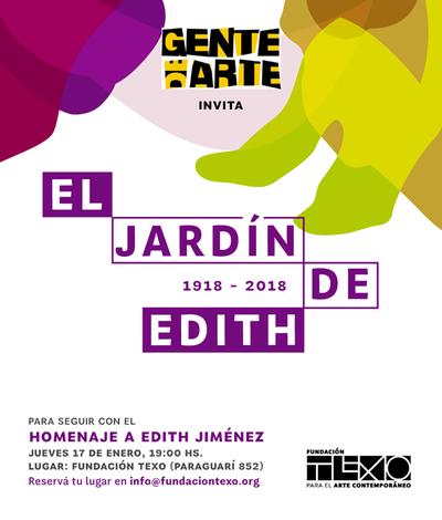 Gente de Arte homenajeará a Edith Jiménez