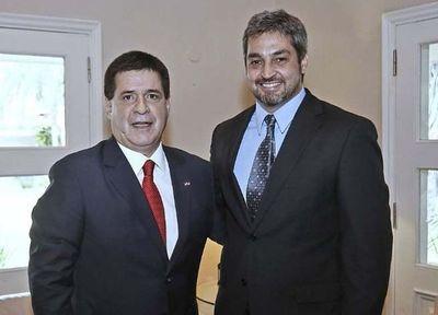 Tres gobernadores abandonaron a Cartes para irse con Marito